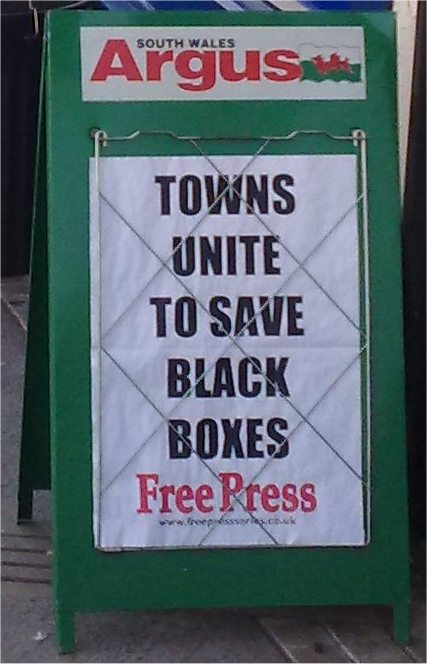Save Our Black Box Campaign